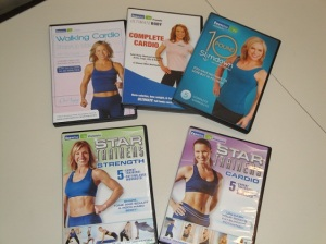 Exercise video covers