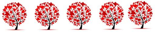 heart tree banner