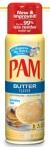 Pam, butter